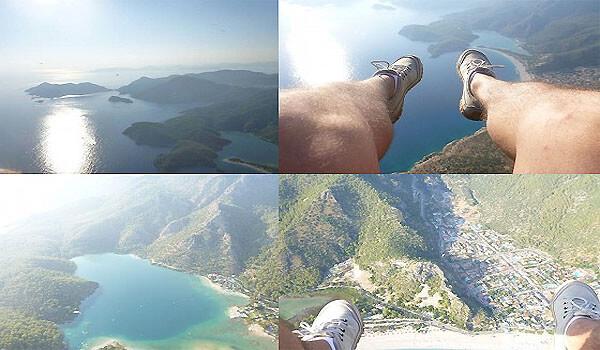 Paragliding in Ölüdeniz